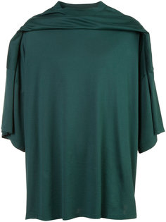 draped front T-shirt Y / Project