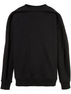 draped front sweatshirt Y / Project