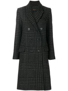 двубортное пальто в клетку  Paltò