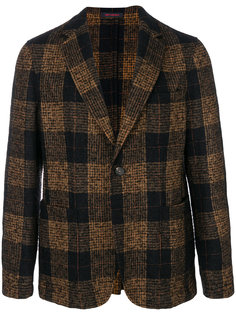 пиджак в клетку с застежкой на две пуговицы The Gigi