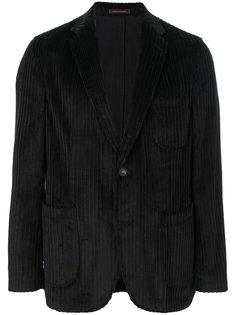 вельветовый пиджак с застежкой на две пуговицы The Gigi