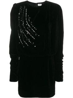 платье с кристаллами Magda Butrym
