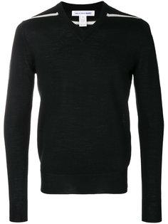 свитер с полосками на рукавах Comme Des Garçons Shirt