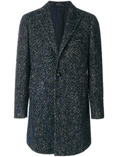 классическое твидовой пальто Tagliatore