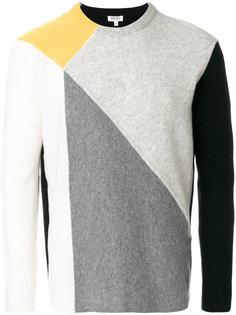 свитер дизайна колор-блок Kenzo