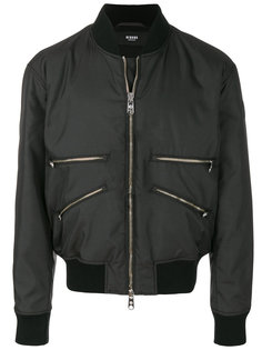 куртка-бомбер на молонии Versus