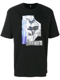футболка с принтом спереди Versus