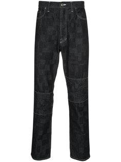 джинсы с лоскутными деталями Anrealage