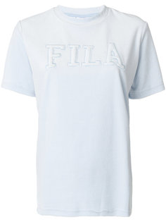 топ с вышитым логотипом  Fila