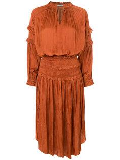 платье с декоративными сборками Ulla Johnson