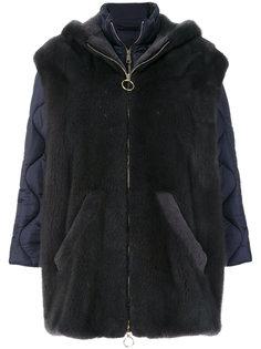 fur detail jacket  Blancha