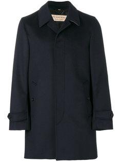 классическое однобортное пальто Burberry