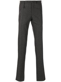 классические брюки с мелким узором Incotex