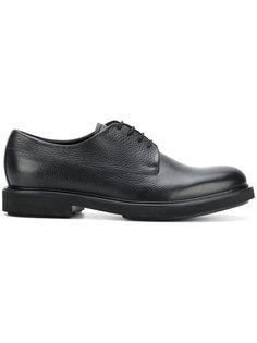 туфли на шнуровке Emporio Armani