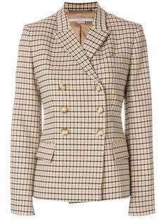 двубортный пиджак в клетку Stella McCartney
