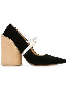 туфли-лодочки на толстом каблуке Jacquemus