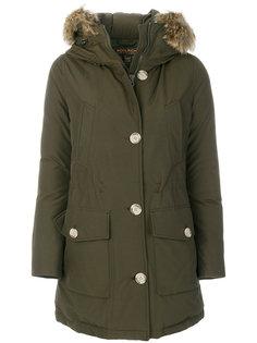 пальто-парка с перьевым наполнителем  Woolrich