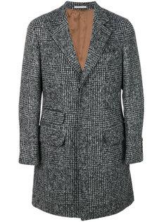 пальто в клетку Prince of Wales Brunello Cucinelli