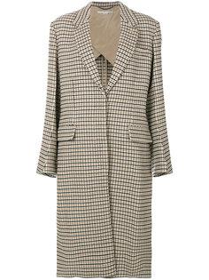 пальто Harper в клетку Stella McCartney