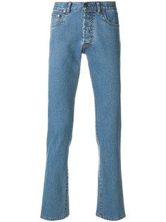 брюки кроя слим Brioni