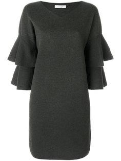 платье с оборками на рукавах D.Exterior
