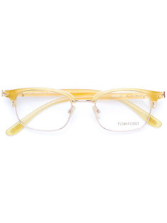 square frame glasses Tom Ford Eyewear