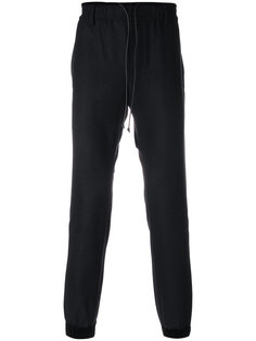 брюки с эластичным поясом Sacai