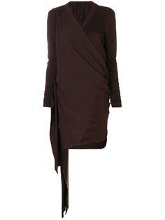 платье с запахом с драпировками Ilaria Nistri