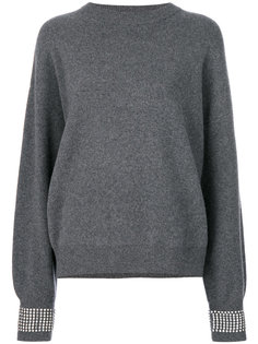 jumper with crystals Alexander Wang