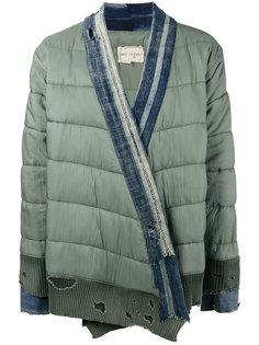 """утепленная куртка кроя """"кимоно"""" Greg Lauren"""