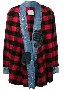 клетчатый пиджак Buffalo Greg Lauren