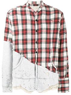рубашка в клетку Greg Lauren