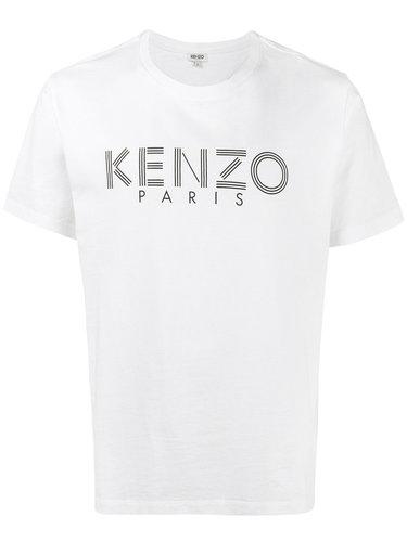 классическая футболка с принтом логотипа Kenzo