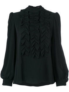 блузка с пышными оборками Odeeh