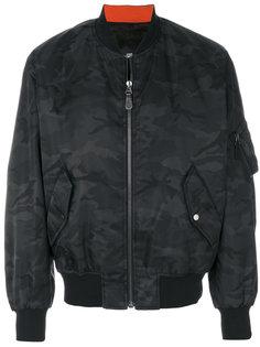 камуфляжная куртка Yves Salomon Homme