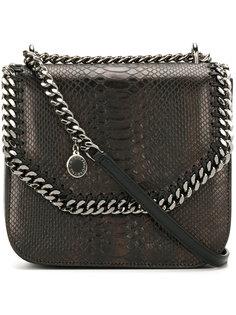 сумка на плечо Falabella Box с эффектом кожи питона Stella McCartney