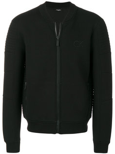 куртка-бомбер с вышивкой логотипа Calvin Klein