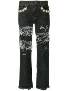 джинсы Big Holes II Forte Couture