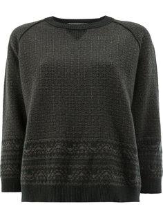 свитер с узором  Lamberto Losani