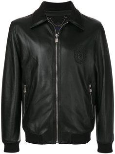куртка-бомбер с нашивкой логотипа Billionaire