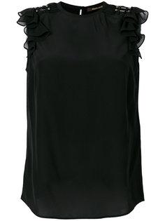 блузка с оборками Roberto Cavalli