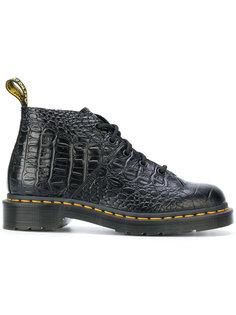 ботинки с эффектом крокодиловой кожи Dr. Martens