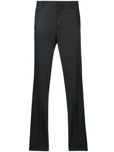 брюки с вышивкой логотипа Billionaire