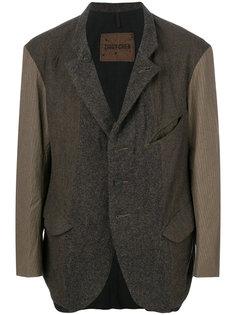 пиджак с контрастными рукавами Ziggy Chen