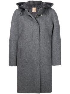 приталенное пальто-кокон Fay