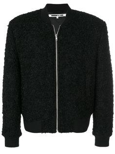 куртка-бомбер из овчины McQ Alexander McQueen