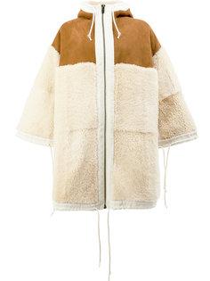 свободное пальто с капюшоном  Toogood