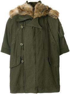 камуфляжное пальто-кейп Faith Connexion
