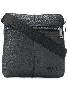 сумка-почтальонка с логотипом Armani Jeans