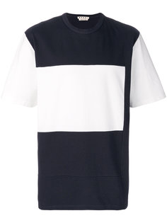 футболка в стиле колор блок Marni